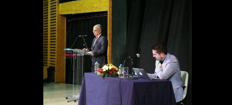 Ομιλία μου στην εκδήλωση «Η Θεσσαλονίκη εκτός των τειχών» στο Κλειστό Δημοτικό Θέατρο Νεάπολης