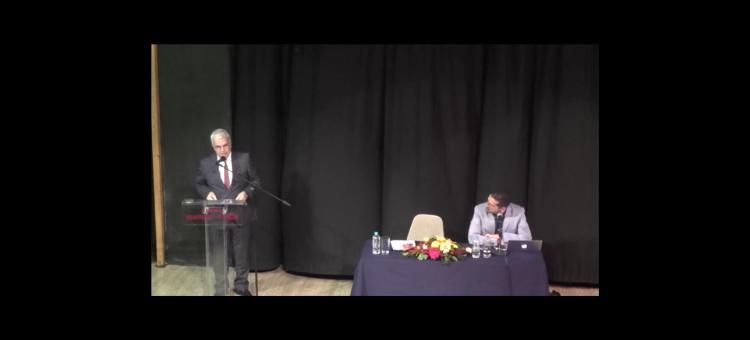 Ολόκληρη η ομιλία από την εκδήλωση με θέμα «Η Θεσσαλονίκη εκτός των τειχών»