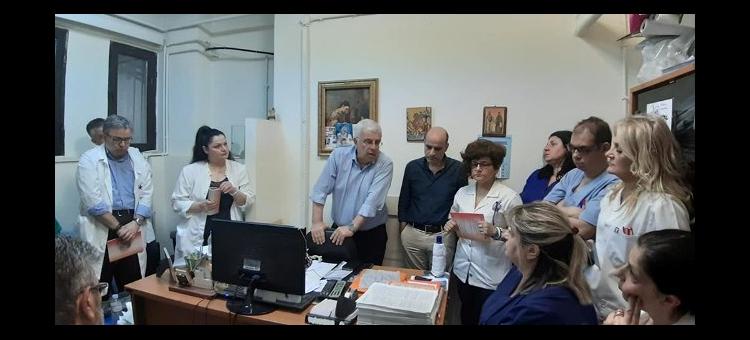Δ.Τ.Επισκέψεις σε Δημόσιες Υπηρεσίες από τον Στράτο Σιμόπουλο