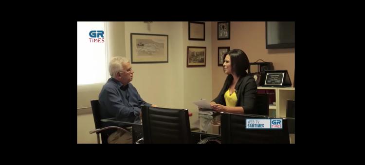 Στην εκπομπή «SamTimes» του Grtimes.gr συζητάμε για τις εκλογές και τις προκλήσεις που αντιμετωπίζει η Θεσσαλονίκη.