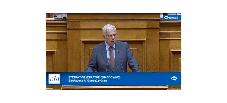 Στη συζήτηση για το αναπτυξιακό πολυνομοσχέδιο στη Βουλή εξηγώ πως στηρίζουμε την μικρομεσαία επιχειρηματικότητα. Κύριο παράδειγμα η λύση που δίνεται για σημαντικό πρόβλημα των εμπόρων της λαχαναγοράς. Παραίνεσή μου προς το υπουργείο υποδομών η χρησιμοποίηση της Εγνατία ΑΕ στη δημιουργία του μητρώου υποδομών.