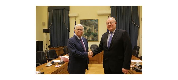 Συνάντηση Πρέσβη Φινλανδίας με το Προεδρείο της ΚΟΦ Ελλάδας – Φινλανδίας.