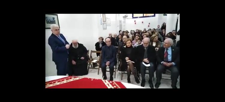 Η φιλανθρωπική ένωση 40 Εκκλησιών τιμά τον «Πρύτανη» των μηχανικών Μάριο Λάζιο για την προσφορά του