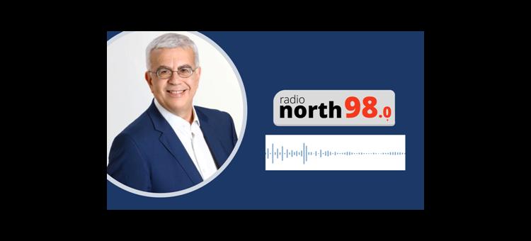 Η ανάπτυξη είναι σαν ένας καμβάς όπου χρειάζονται πολλές βελονιές για να έχουμε το συνολικό αποτέλεσμα. (Στο radio north 98.0, στις 20-05-2020)