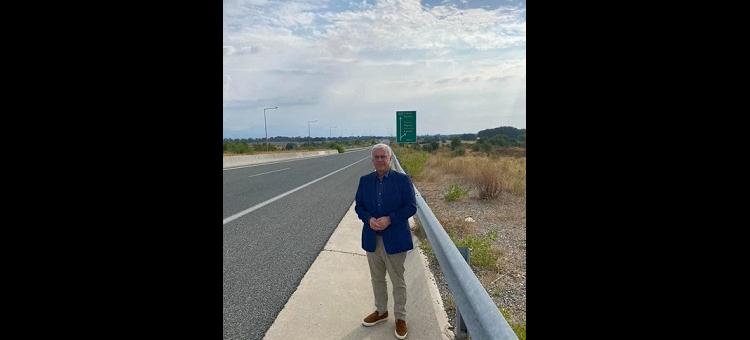 Στον κάθετο οδικό άξονα της Εγνατίας, Θεσσαλονίκη-Σέρρες-Προμαχώνας.