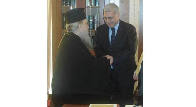 ΣΥΝΑΝΤΗΣΗ ΜΕ ΤΟΝ ΜΗΤΡΟΠΟΛΙΤΗ ΘΕΣΣΑΛΟΝΙΚΗΣ Κ. AΝΘΙΜΟ (29-10-2012)